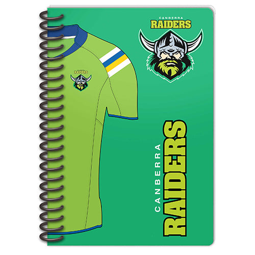 Canberra Raiders Set Of 2 Notebooks