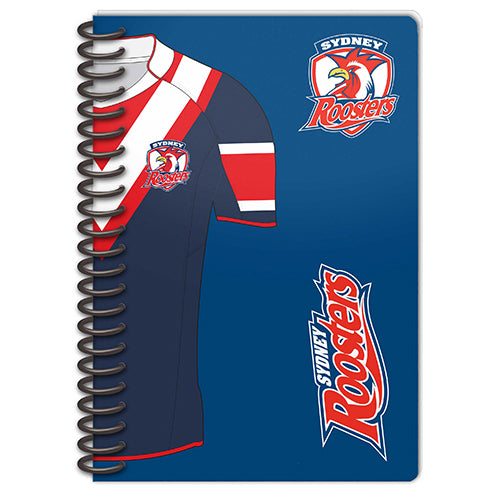 Sydney Roosters Set Of 2 Notebooks