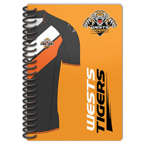 Wests Tigers Set Of 2 Notebooks