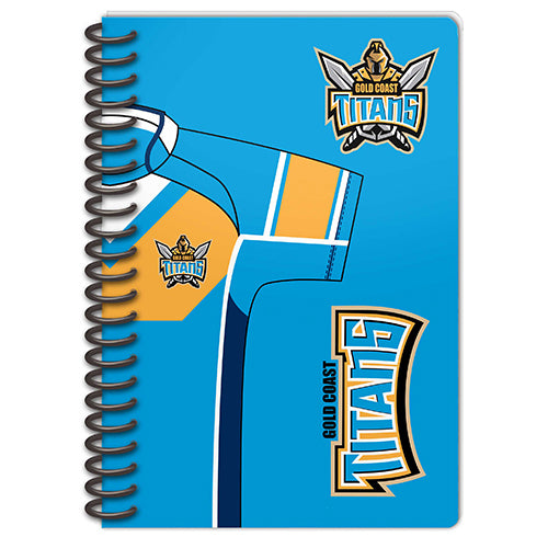 Gold Coast Titans Set Of 2 Notebooks