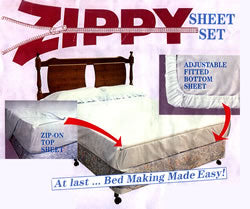 Zippy Sheet Set - Queen Size