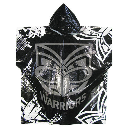 New Zealand Warriors Poncho