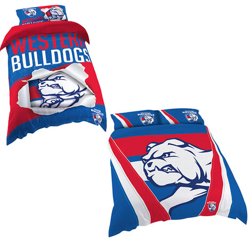Western Bulldogs Quilt Cover
