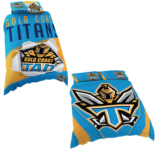 Gold Coast Titans Quilt Cover
