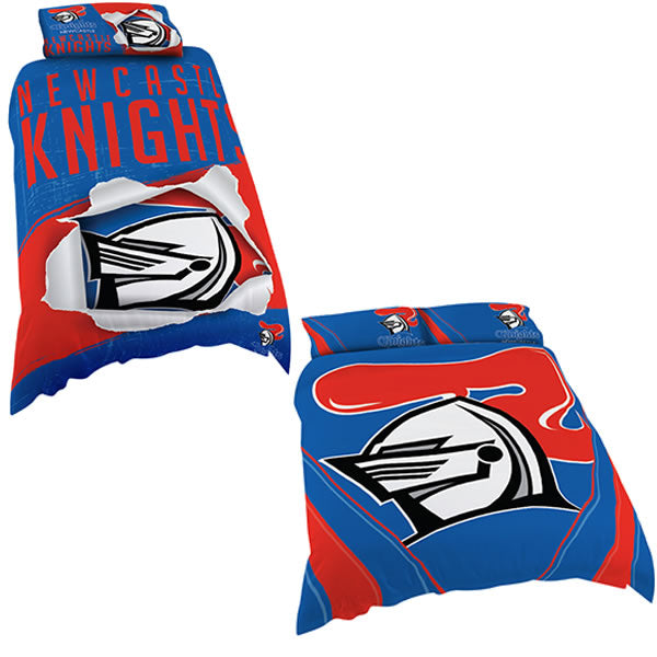 Newcastle Knights Quilt Cover
