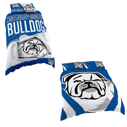 Canterbury Bulldogs Quilt Cover
