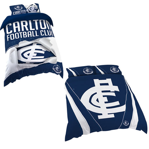 Carlton Blues Quilt Cover