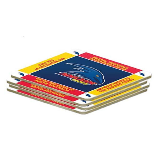 Adelaide Crows Pack of 4 Coasters