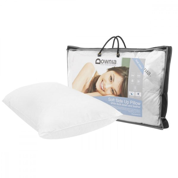 Downia Soft Side Up White Duck Down & Feather Pillow