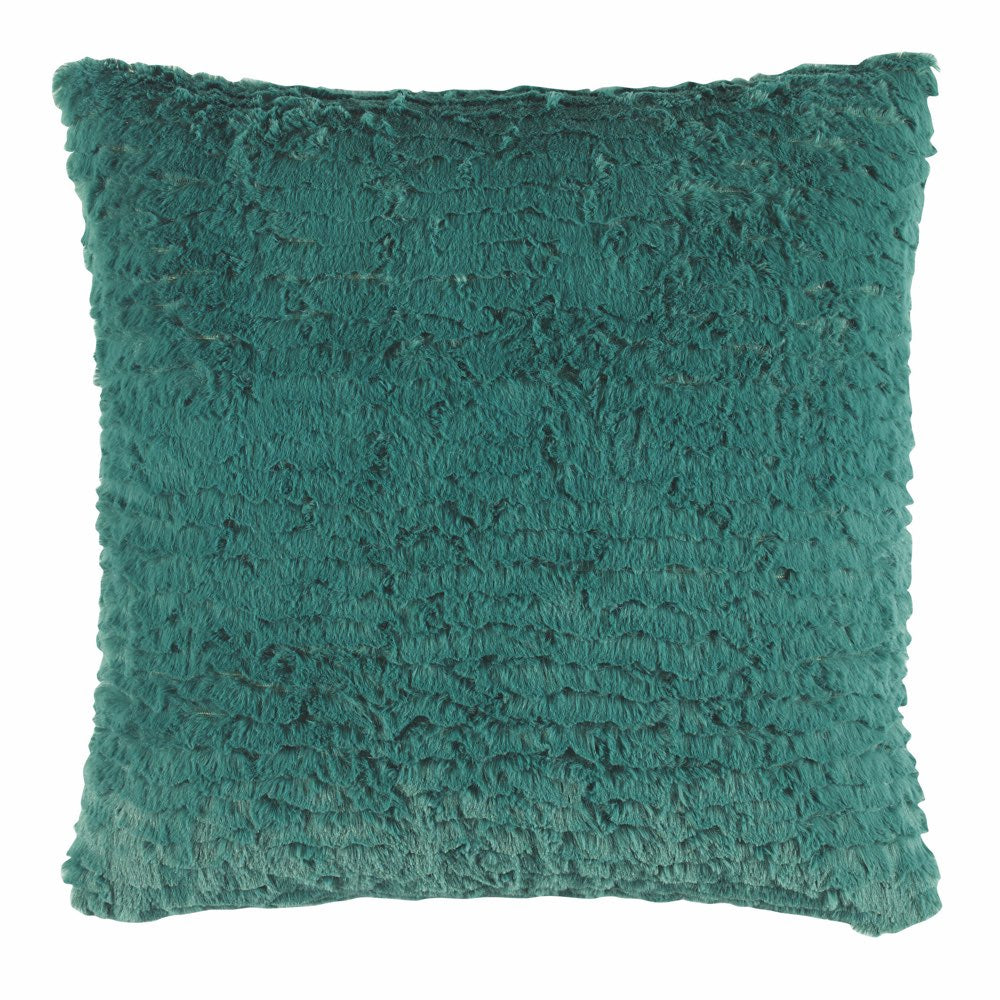 Teal 43cm x 43cm Filled Cushion