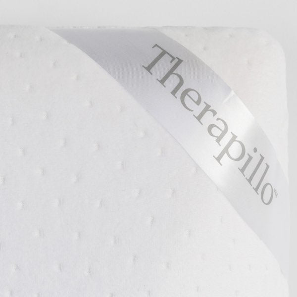 Dunlopillo Therapillo Premium Memory Foam Medium Profile Contoured Pillow - Close Up