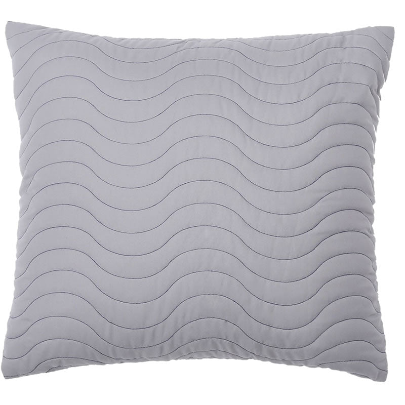 Grey European Pillow Case
