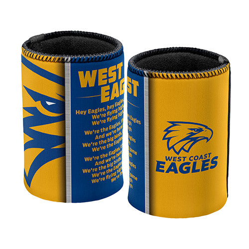West Coast Eagles Team Song Can Cooler
