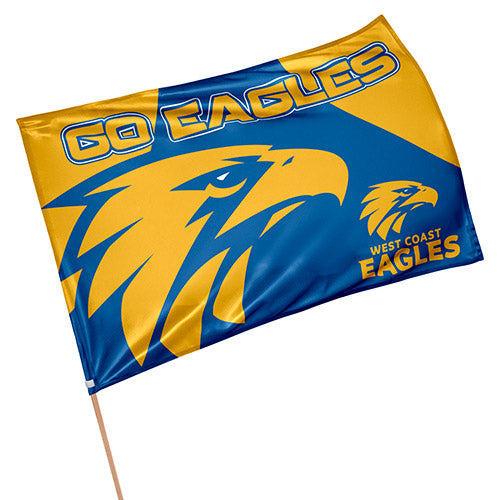 West Coast Eagles Game Day Flag