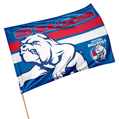Western Bulldogs Game Day Flag