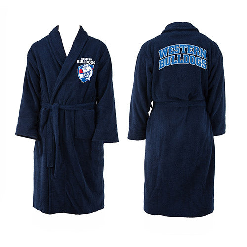 Western Bulldogs Dressing Gown