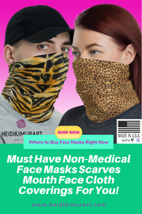 Must Have Non-Medical Face Masks Scarves Mouth Face Coverings You Must Have Right Now