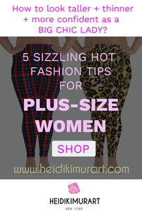 5 Hot Tips for Plus Size Women's Fashion-How to look skinnier and Embrace your sexy curves?