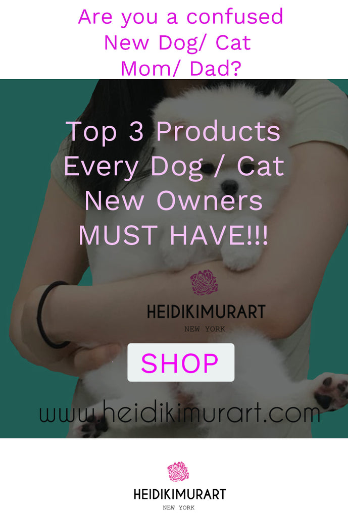 Top 3 Must Have Cute Pet Animal Accessories for Any New Loving Dog/ Cat Moms and Dads