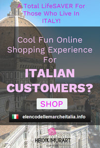 Looking For A Fun Online Shopping Experience in Italy? A lifesaver for those who live in Italy!