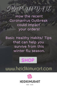 Quick Shop Update: How the Coronavirus Outbreak could impact our shop and your orders?