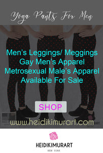 Gay Apparel Our Megging Men's Leggings New Gay Clothing Line Collection- Yoga Pants for Men