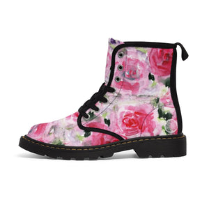 Sick of boring, mass-produced plain-looking kid's boots? Check out these one-of-a-kind designer kid's martin boots that are created and designed just for your boys and girls! These cute designer floral martin boots with a cool design are a must for school