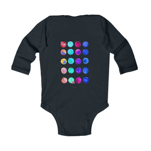 Infant Long Sleeve Bodysuits baby clothes baby boy girl infant wear cotton made in usa uk designer funny cute animal graphic designer clothes