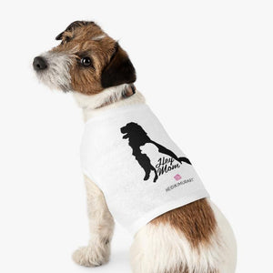 Check out these high quality brand new pet tanks clothing for your precious house pet such as dogs and cats. We offer various size designer pet clothing for your lovely pets.