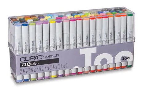 If you enjoyed these art demonstrations and would like to try out these COPIC SKETCH MARKERS, BUY SOME MARKERS TODAY HERE! copic markers sketch pens