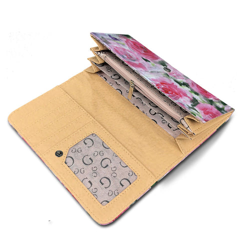 womens wallet floral