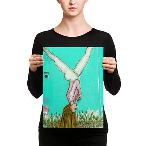 yoga wall art meditation artwork