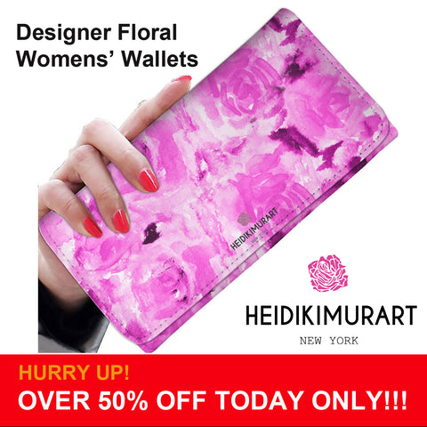 womens wallets floral