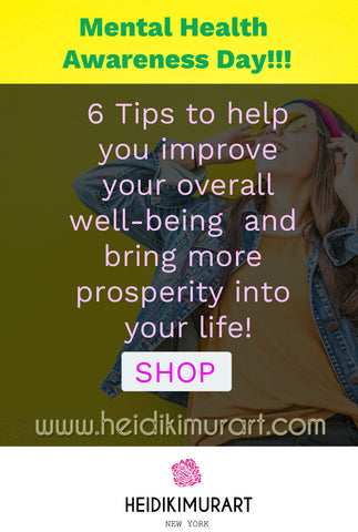6 tips that can help you improve your overall well being and bring more prosperity into your life. mindfulness wellness well being