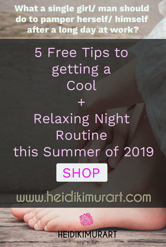 mindfulness night time routine girl boy relaxing cool night wellness mental health spa