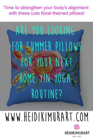throw pillow for yin yoga