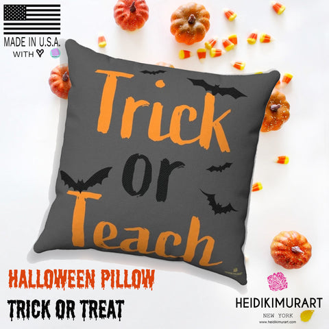 trick or teach pillow