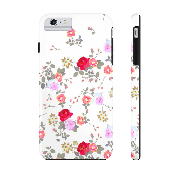 Vintage Style Mixed Floral Print Designer Case Mate Tough Phone Case-Made in USA - Heidikimurart Limited
