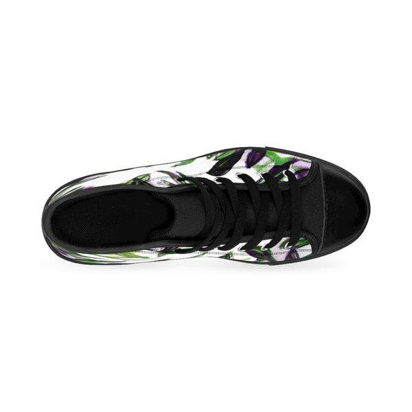 Tropical Leaves Women's High Top Designer Sneakers Running Shoes (US Size: 6-12)-Women's High Top Sneakers-Heidi Kimura Art LLC Tropical Leaves Women's Sneakers, Tropical Leaves Print Women's High Top Designer Sneakers Running Shoes (US Size: 6-12) Tropical Leaves Women's Sneakers, Tropical Leaves Print Women's High Top Designer Sneakers Running Shoes (US Size: 6-12)