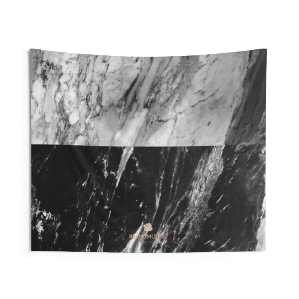Copy of Grey Black Marble Print Designer Indoor Wall Tapestries- Made in USA-Home Decor-60x50-Heidi Kimura Art LLC