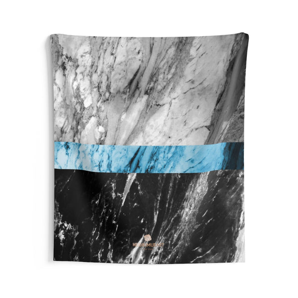 Copy of Grey Black Marble Print Designer Indoor Wall Tapestries- Made in USA-Home Decor-68x80-Heidi Kimura Art LLC