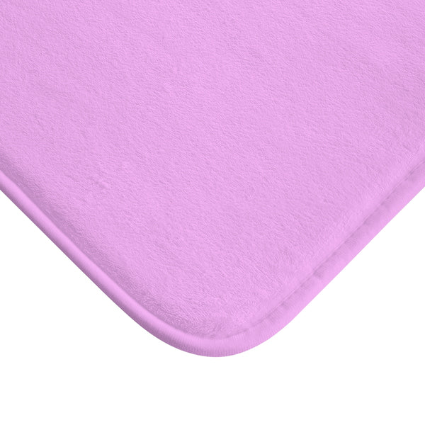 "Pink ""Character Is How You Treat Those Who Can Do Nothing For You"" Inspirational Quote Bath Mat- Printed in USA-Bath Mat-Heidi Kimura Art LLC"