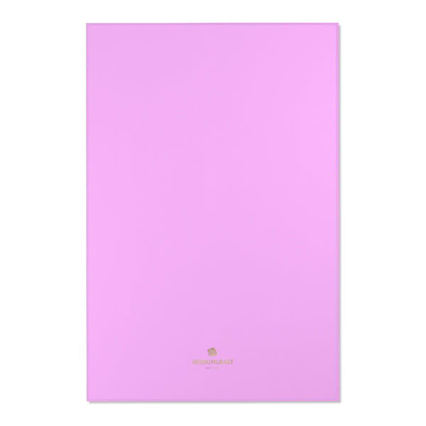"Light Pink Solid Color Designer 24x36, 36x60, 48x72 inches Area Rugs- Printed in the USA-Area Rug-48"" x 72""-Heidi Kimura Art LLC"
