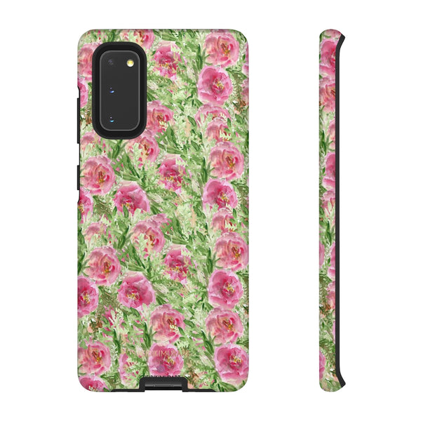 Garden Rose Phone Case, Roses Floral Print Tough Designer Phone Case -Made in USA-Phone Case-Printify-Samsung Galaxy S20-Glossy-Heidi Kimura Art LLC