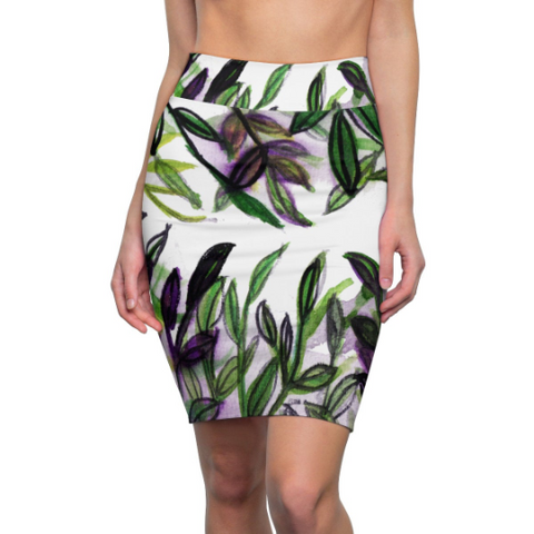 Boho Style Lady Green Leaves Women's Designer Pencil Skirt - Made in USA (XS-2XL)Tropical Print Skirt,Jungle Print Skirt,Floral Pencil Skirt, Office Skirt,Abstract Print Skirt,Stretch Skit,Classic Skirt Boho Style Green Tropical Leaves Print Women's Pencil Skirt-Made in USA (US Size:XS-2XL) Jungle Tropical Print Skirt, Green Leaf Print Skirt Boho Style Lady Green Tropical Leaves Print Women's Designer Pencil Skirt - Made in USA (US Size: XS-2XL)