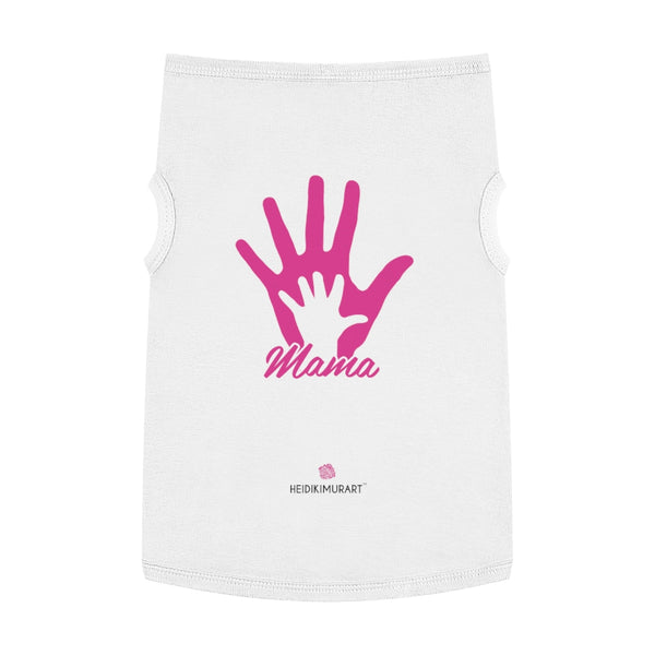 Best Pet Tank Top For Dog/ Cat, Pink Palm Hands Mom Premium Cotton Pet Clothing For Cat/ Dog Moms, For Medium, Large, Extra Large Dogs/ Cats, (Size: M, L, XL)-Printed in USA, Tank Top For Dogs Puppies Cats, Dog Tank Tops, Dog Clothes, Dog Cat Suit/ Tshirt, T-Shirts For Dogs, Dog, Cat Tank Tops, Pet Clothing, Pet Tops, Dog Outfit Shirt, Dog Cat Sweater, Gift Dog Cat Mom Dad, Pet Dog Fashion