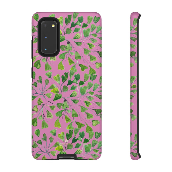 Blue Maidenhair Fern Tough Cases, Green Leaf Print Phone Case-Made in USA-Phone Case-Printify-Samsung Galaxy S20-Glossy-Heidi Kimura Art LLC