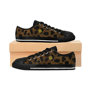 Nozomi Brown Leopard Cheetah Print Animal Print Lightweight Women's Fashion Canvas Sneakers(US Size: 6-12) Brown Shoes, Leopard Print Shoes Nozomi Brown Leopard Print Animal Print Lightweight Premium Women's Fashion Canvas Sneakers (US Size: 6-12)