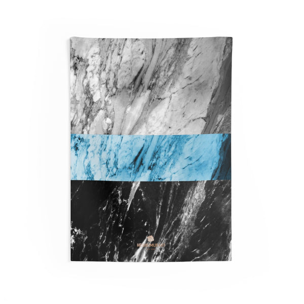 Copy of Grey Black Marble Print Designer Indoor Wall Tapestries- Made in USA-Home Decor-26x36-Heidi Kimura Art LLC