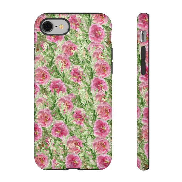 Garden Rose Phone Case, Roses Floral Print Tough Designer Phone Case -Made in USA-Phone Case-Printify-iPhone 8-Matte-Heidi Kimura Art LLC